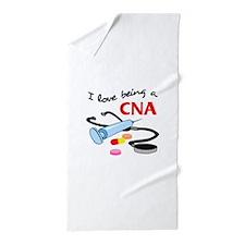 CNA CERTIFIED NURSES ASSISTANT Beach Towel