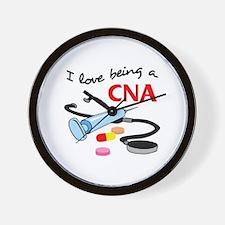 CNA CERTIFIED NURSES ASSISTANT Wall Clock