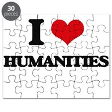 I Love Humanities Puzzle
