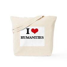 I Love Humanities Tote Bag