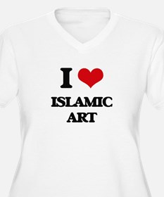 I Love Islamic Art Plus Size T-Shirt