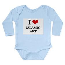 I Love Islamic Art Body Suit