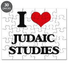 I Love Judaic Studies Puzzle