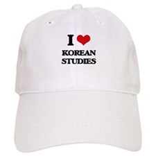 I Love Korean Studies Baseball Cap