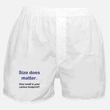 """Size does matter..."" Boxer Shorts"