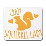 Squirrels Mouse Pads