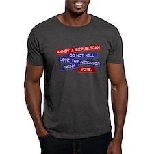 """""""Annoy a Republican"""" T-Shirt"""