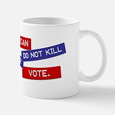 """Annoy a Republican"" Small Small Mug"