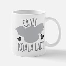 Crazy Koala Lady Mugs