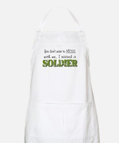 I raised a Soldier (green) BBQ Apron