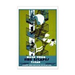 FIRE ESCAPE poster 11x17