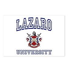 LAZARO University Postcards (Package of 8)