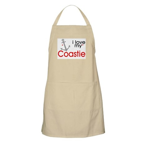 i love my Coastie BBQ Apron