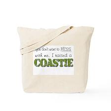 I raised a Coastie (green) Tote Bag