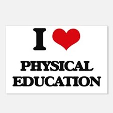 I Love Physical Education Postcards (Package of 8)
