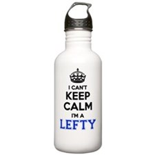Cute I'm leftie Water Bottle