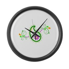 PAISLEY Large Wall Clock