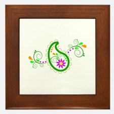 PAISLEY Framed Tile