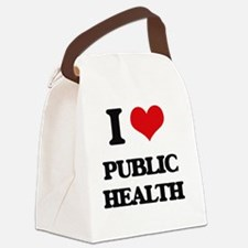 Funny Health Canvas Lunch Bag