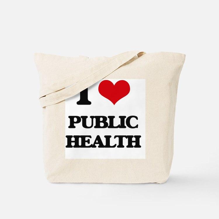 Cute Public health Tote Bag