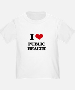 I Love Public Health T-Shirt