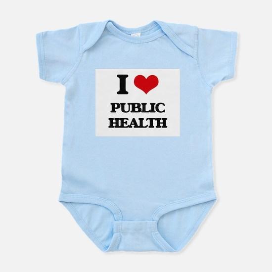 I Love Public Health Body Suit