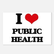 I Love Public Health Postcards (Package of 8)