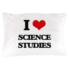 I Love Science Studies Pillow Case