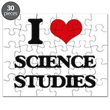I Love Science Studies Puzzle