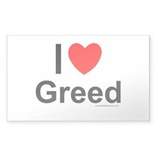 Greed Decal