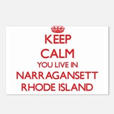 Keep calm you live in Nar Postcards (Package of 8)