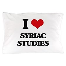 I Love Syriac Studies Pillow Case