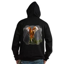Red Shouldered Hawk Hoodie