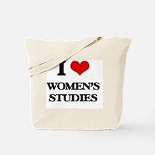 Cute Womens studies Tote Bag
