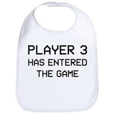 Cute Gamer girl Bib