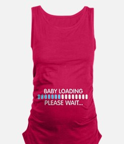 Baby Loading... Maternity Tank Top