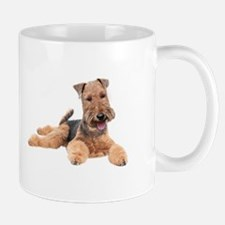 Welsh Terrier Portrait Mugs