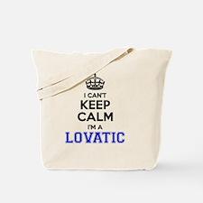 Unique Lovatic Tote Bag