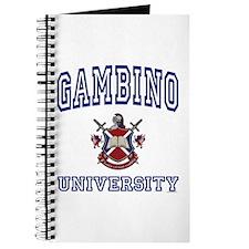 GAMBINO University Journal