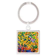 Gestel - Cubist Bouquet Square Keychain