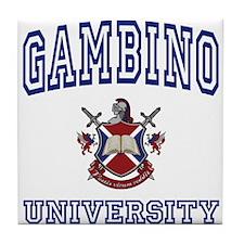 GAMBINO University Tile Coaster