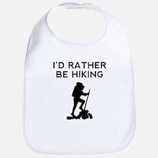 Id Rather Be Hiking Bib