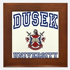 DUSEK University Framed Tile