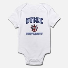 DUSEK University Infant Bodysuit