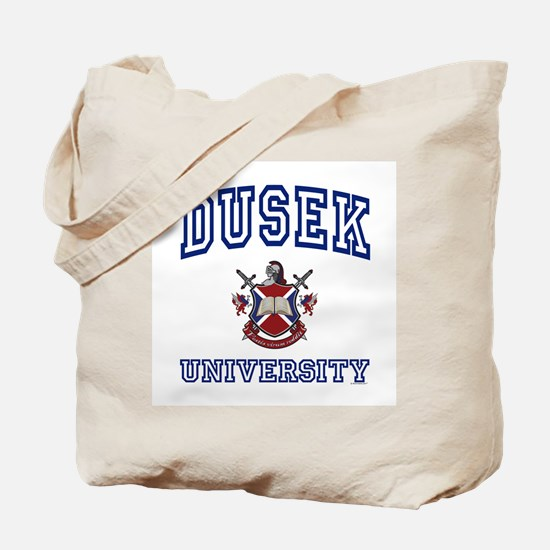 DUSEK University Tote Bag