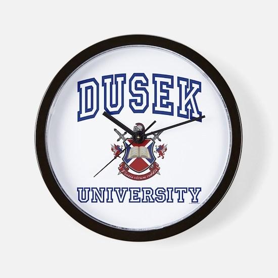 DUSEK University Wall Clock
