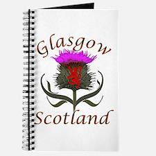 Glasgow Scotland thistle Journal