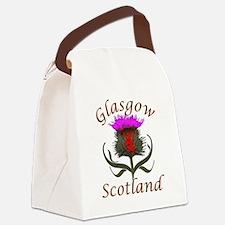 Glasgow Scotland thistle Canvas Lunch Bag