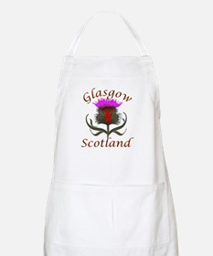 Glasgow Scotland thistle Apron
