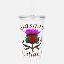 Glasgow Scotland Acrylic Double-Wall Tumbler